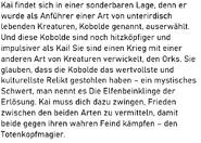 Kai Geschichte S13