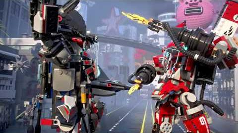 Fire Mech - LEGO NINJAGO Movie - 70615 - Product Animation