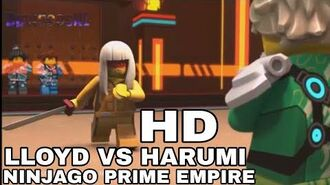 NINJAGO Prime Empire clip- Lloyd vs. Harumi - Komplette Kampfszene