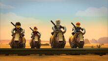 Ninja rides