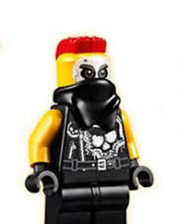 ausmalbild ninjago garmadons motorrad gang