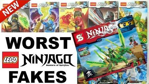 TOP 10 LEGO NINJAGO WORST FAKES! (2011-2017)