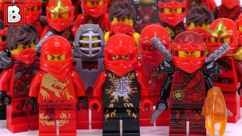 Every LEGO Kai Minifigure Ever Made!!! Ninjago Collection Review