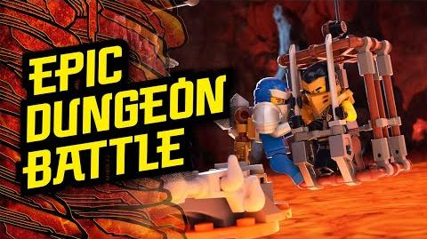 Dungeons of Shintaro – Cole's Rescue - LEGO® NINJAGO®
