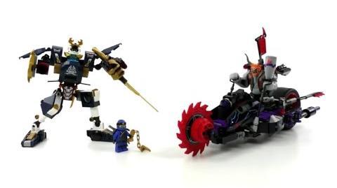 LEGO Ninjago Set 70642 - Killow gegen Samurai X Review deutsch