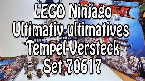 Test LEGO Ultimativ ultimatives Tempel-Versteck (Ninjago Movie Set 70617 Review deutsch)