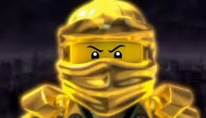 Goldener Ninja