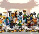 71019 Ninjago Movie Minifiguren