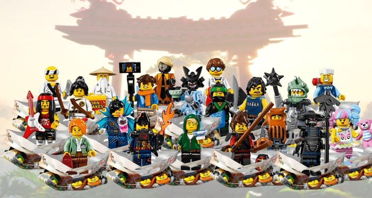 71019 Ninjago Movie Minifiguren | Lego Ninjago Wiki ...