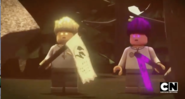 Garmadon and Wu Forbidden Spinjitzu