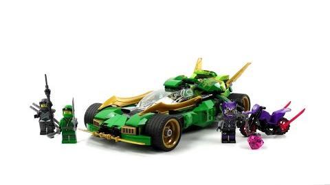 LEGO Ninjago Set 70641 - Lloyds Nachtflitzer Review deutsch