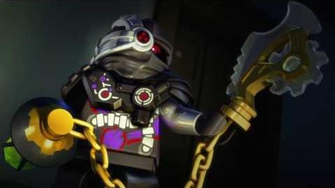 Story of Cryptor – LEGO NINJAGO – Villain Throwback (40s)