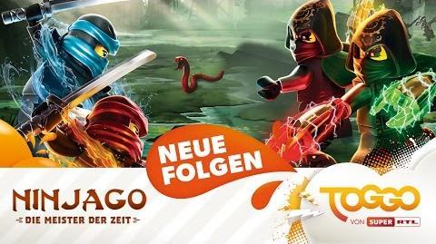 NEUE FOLGEN- Ninjago - Die Meister der Zeit heute um 16-40 bei TOGGO von SUPER RTL