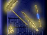 Die vier Goldenen Waffen