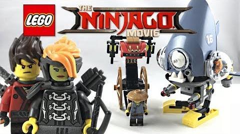 LEGO Ninjago Movie Piranha Chase review! 2018 set 70629!