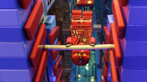 LEGO® NINJAGO - Ninjas take on the American Ninja Warrior Obstacle Course!