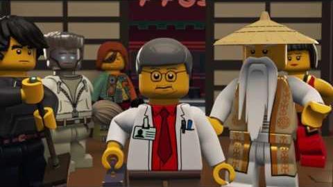 Kontrolltag - LEGO NINJAGO - Wu's Tee Episode 7