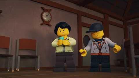 Lustige Kerle - LEGO NINJAGO - Wu's Tee Episode 6