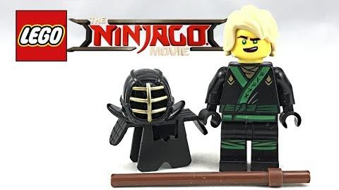 Rare LEGO Ninjago Movie Kendo Lloyd review! 2017 polybag 30608!