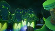 Bansha mit den anderen Geistern