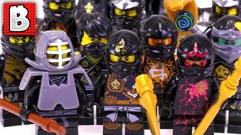 Every LEGO Ninjago Cole Minifigure Ever Made!!! - Rare NRG Cole - Collection Review