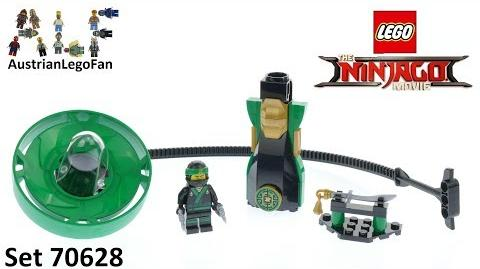 Lego Ninjago Movie 70628 Lloyd - Spinjitzu Master - Lego Speed Build Review