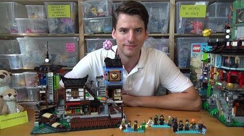 LEGO® Ninjago 70657 - Ninjago City Hafen