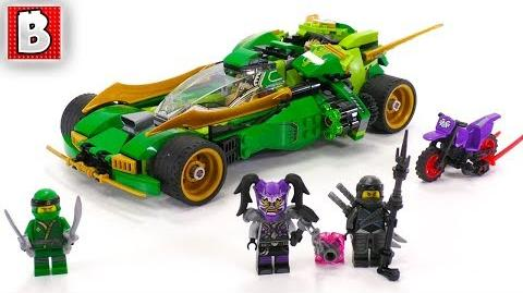 LEGO Ninjago 70641 Ninja Nightcrawler! Unbox Build Time Lapse Review