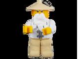 853765 Meister Wu als Plüsch-Minifigur