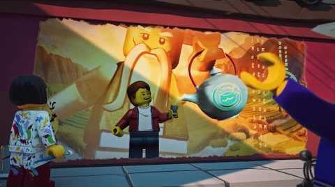 Nyas Gemälde - LEGO NINJAGO - Wu's Tee Episode 17