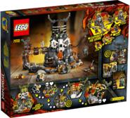 71722 Skull Sorcerers Dungeons Box Backside