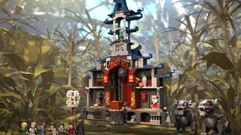 Temple of the Ultimate Weapon - LEGO NINJAGO Movie - 70617 - Product Animation