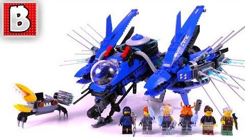 LEGO Ninjago Movie Jay's Lightning Jet 70614! Unbox Build Time Lapse Review