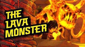 In the Skull Dungeons- 'The Lava Monster' – LEGO® NINJAGO® Master of the Mountain