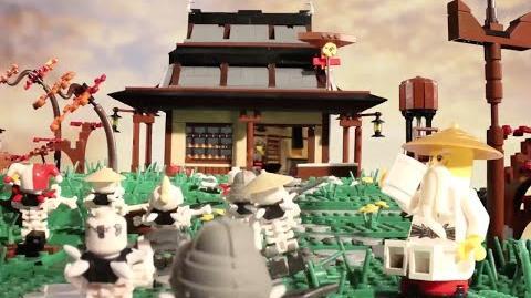 LEGO® Ninjago - How Wu Met the Ninja - Stop Motion