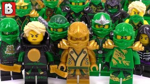 Every Lloyd Minifigure Ever Made!!! LEGO Ninjago Collection Review-0
