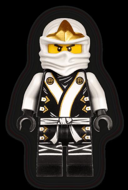 ZANES WHITE ICE DRAGON fits lego NINJAGO ELEMENTAL RIDERS set