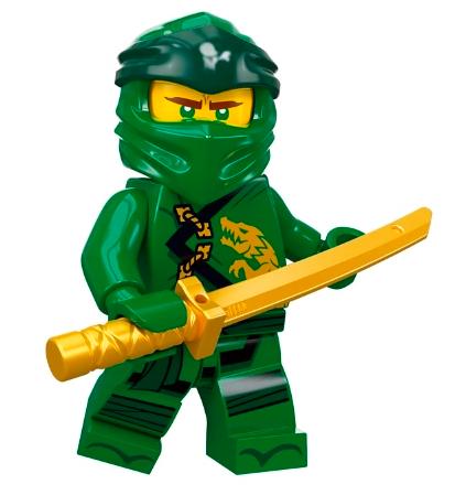 NEW Lego Ninjago Minifig GOLD MEGA WEAPON Ninja Kai Zane Jay Cole Lloyd Garmadon