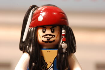 Captain Jack Sparrow (without his hat)