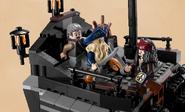 Jack and Davy Jones Fighting