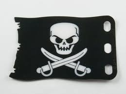 Black Pearl Jolly Roger