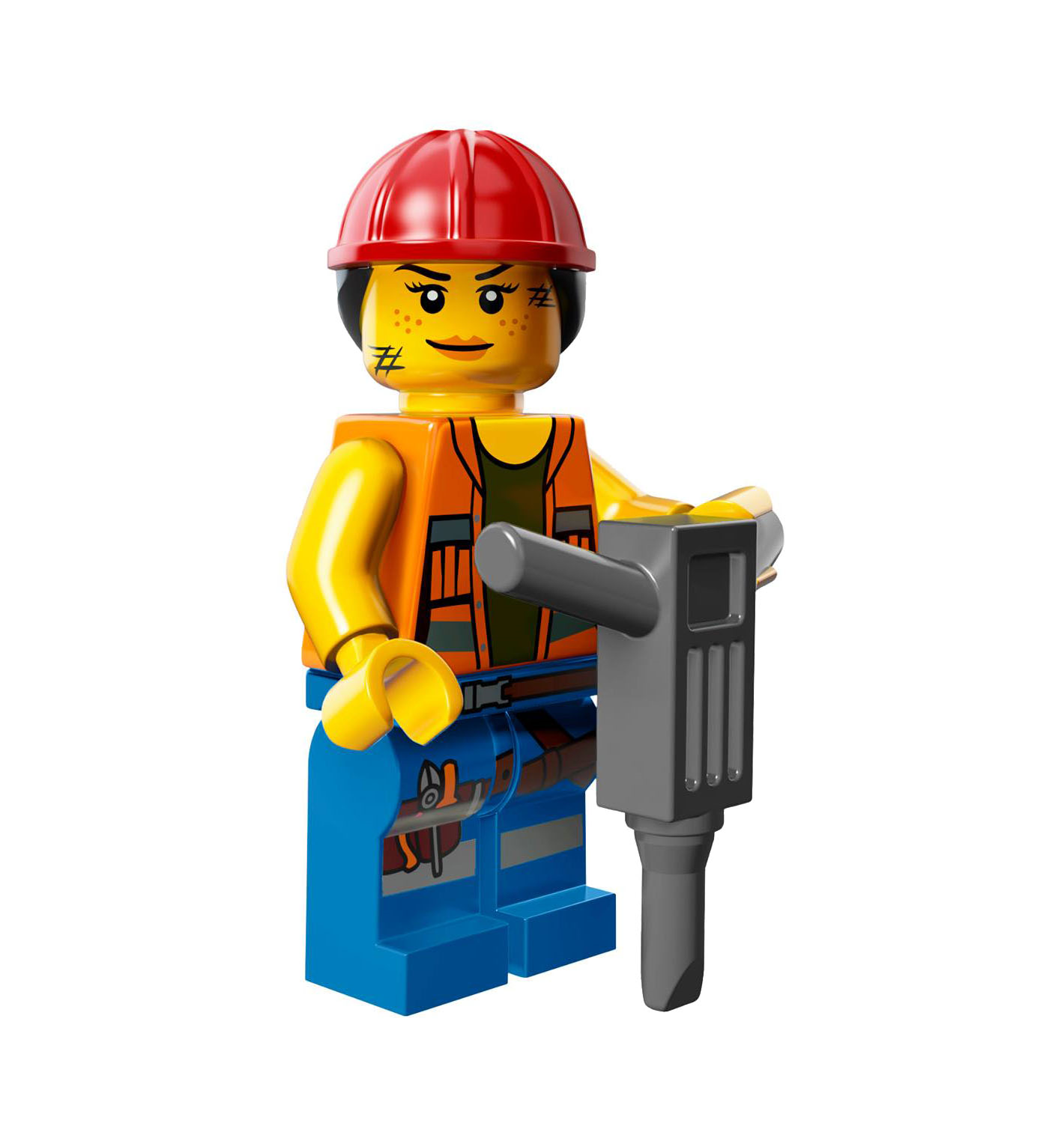Obraz Gail The Construction Worker Png Lego Przygoda