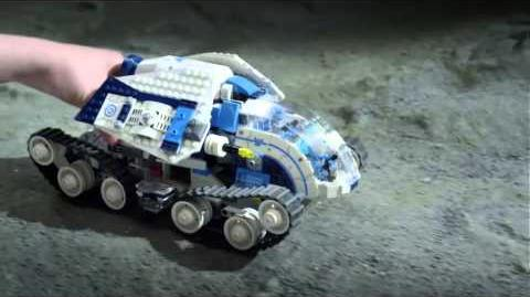 Lego Galaxy Squad Hive Crawler Commercial