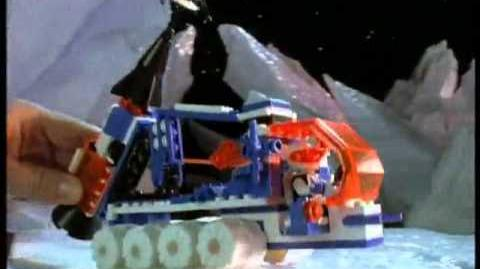 Lego Space - Blacktron Iceplanet - 1991 1993 - Commercial