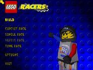 LEGO Racers Menu