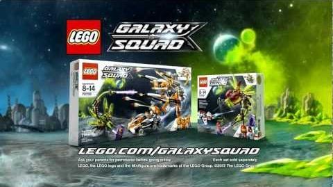 LEGO 2013 Galaxy Squad - Bug Obliterator 70705 & Warp Stinger 70702