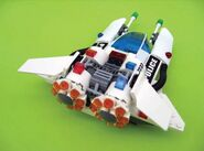 5973 Space Police Prototype Back