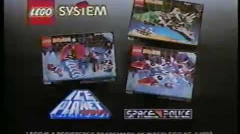 1993 LEGO System Ice Planet 2002 & Space Police 2 commercial