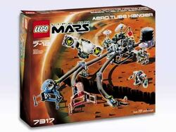 Lego life on mars aero tube hanger
