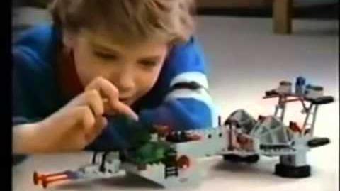 Lego Solar power transporter commercial